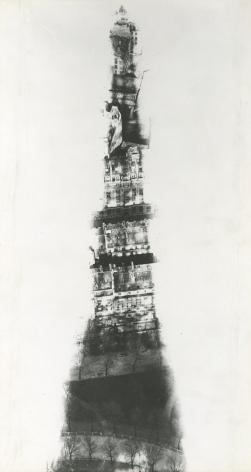 Erwin Blumenfeld, Eiffel Tower, Paris, 1937, Howard Greenberg Gallery, 2020