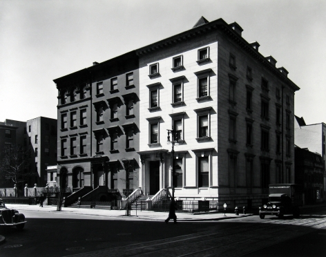Berenice Abbott - Fifth Avenue Houses, Nos. 4, 6, 8 - Howard Greenberg Gallery