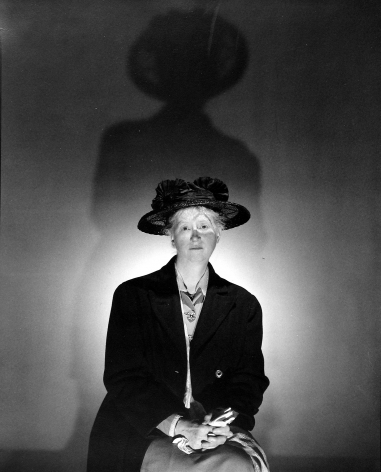 George Platt Lynes - Marianne Moore, 1945 - Howard Greenberg Gallery