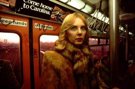 Bruce Davidson 2004 Subway Howard Greenberg Gallery