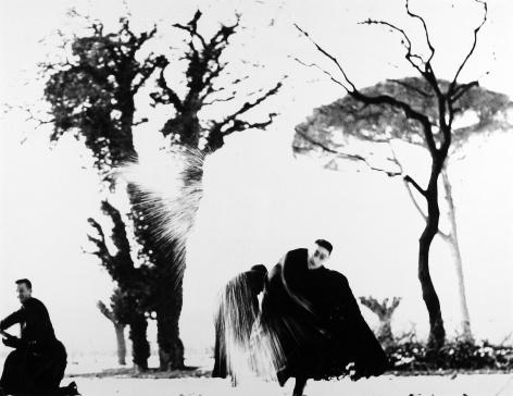 Mario Giacomelli - Il non ho mani che mi accarezzino il volto, c.1961 - Howard Greenberg Gallery