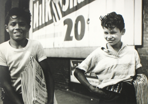 Vivian Maier: Lifetime Prints from the Maloof Collection 2011 Howard Greenberg Gallery