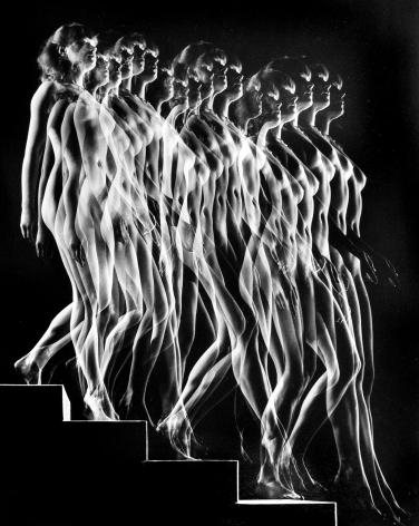 Gjon Mili - Nude Descending Staircase, 1949 - Howard Greenberg Gallery