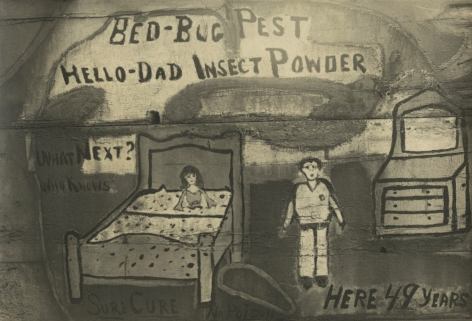 Eliot Elisofon - Untitled (insect powder sign), 1935 - Howard Greenberg Gallery