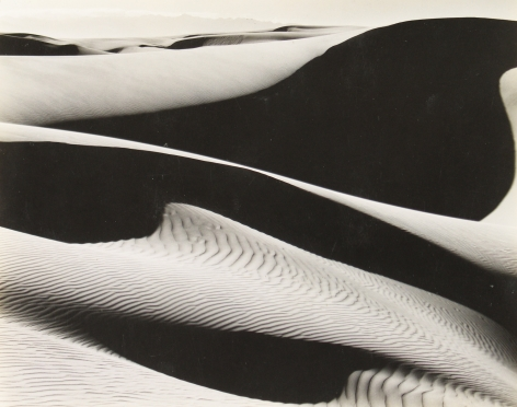 Edward Weston - Dunes, Oceano, 1936 - Howard Greenberg Gallery