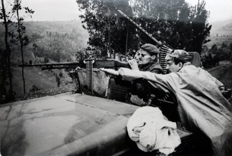 Don McCullin, Mercenaries, Bukavu, Congo, 1980s, Howard Greenberg Gallery, 2019