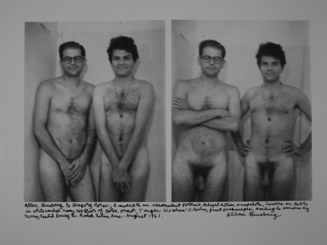 Allen Ginsberg 2015 Howard Greenberg Gallery