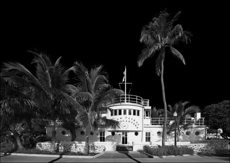 Simon Chaput - Beach Patrol Headquarters, Miami Beach, 2014 - Howard Greenberg Gallery