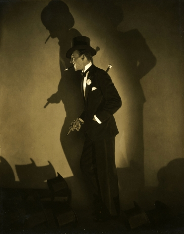 "Edward Steichen - Fred Astaire in ""Top Hat"", 1927 - Howard Greenberg Gallery"