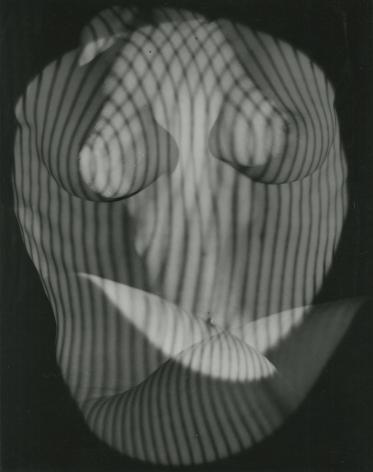 Erwin Blumenfeld, Surrealist Nude in Shadow, New York, 1945, Howard Greenberg Gallery, 2020