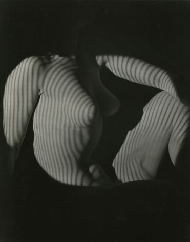 Erwin Blumefeld, Cubist Nude Seated Light/Shadow, New York, 1944, Howard Greenberg Gallery, 2020