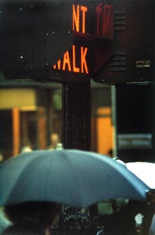 Saul Leiter - Don't Walk, 1952 - Howard Greenberg Gallery - 2018