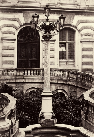 Charles Marville - Candelabre a 5 branches, c.1865 - Howard Greenberg Gallery