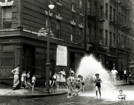 Harold Roth - Water Street, 1948 - Howard Greenberg Gallery