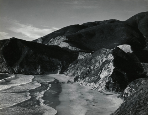 Minor White - Matchstick Cove, San Mateo County, California, 1947 - Howard Greenberg Gallery