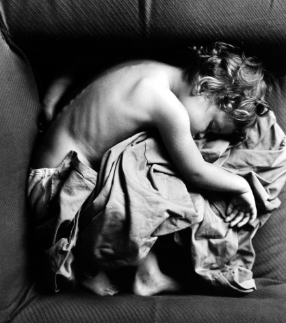 Arthur Leipzig - Sleeping Child, 1950 - Howard Greenberg Gallery