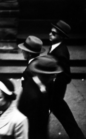 Saul Leiter, Hats, c.1948, Howard Greenberg Gallery, 2019