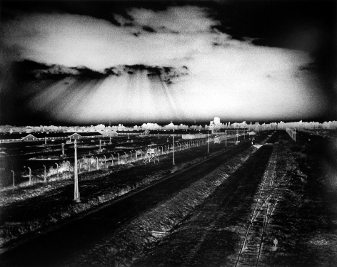 Judith Glickman - Why Did the Heavens Not Darken? View of Birkenau Extermination Camp, Poland, 1991 - Howard Greenberg Gallery