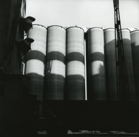 Frank Gohlke - Grain Elevators, Minneapolis - I, #8 1973 - Howard Greenberg Gallery