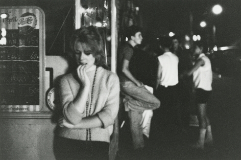 Bruce Davidson, Brooklyn Gang, 1959, Howard Greenberg Gallery, 2019