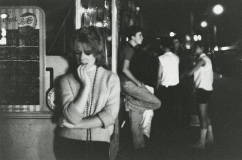 Bruce Davidson, Brooklyn Gang, 1959, Howard Greenberg Gallery, 2019