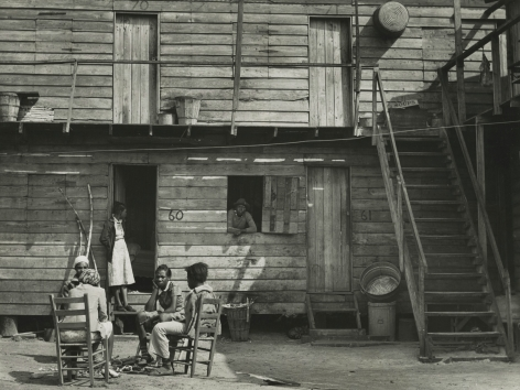 "Marion Post-Wolcott - Pahokee ""Hotel"", Pahokee, Florida, 1941 - Howard Greenberg Gallery"