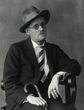 Berenice Abbott - James Joyce, Paris - Howard Greenberg Gallery