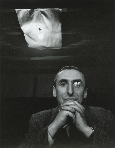 Arnold Newman - Michel Tapié, 1954 - Howard Greenburg Gallery - 2018
