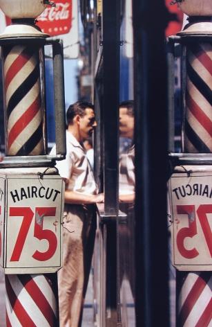 Saul Leiter - Haircut, 1956 - Howard Greenberg Gallery - 2018