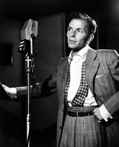 William Gottlieb - Frank Sinatra, c.1947 - Howard Greenberg Gallery