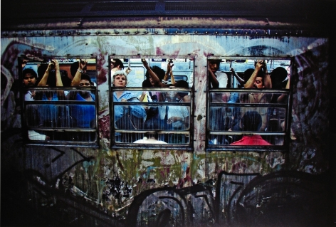Bruce Davidson, Subway, 1980, Howard Greenberg Gallery, 2019