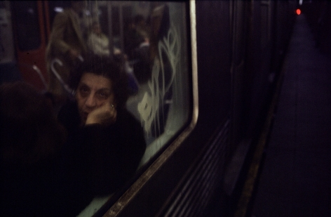 Bruce Davidson 2004 Subway Howard Greenberg Gallery