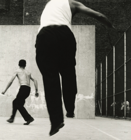 Leon Levinstein - Handball Players, Houston Street, New York, 1955 - Howard Greenberg Gallery