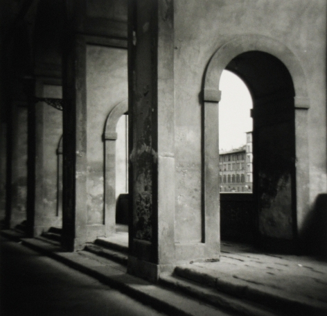 Eric Lindbloom - Arches, Florence, 1983 - Howard Greenberg Gallery