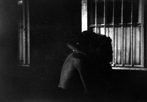 Bruce Davidson Couple embracing in the dark, 1959