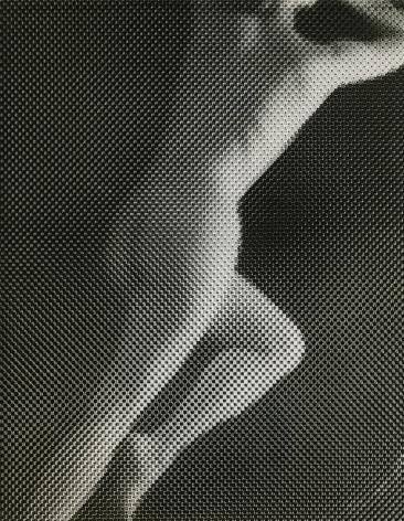 Erwin Blumenfeld, Nude Under Screen, New York, 1945, Howard Greenberg Gallery, 2020