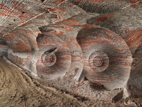 Edward Burtynsky - Uralkali Potash Mine #4, Berezniki, Russia 1/9, 2017 - Howard Greenberg Gallery - 2018