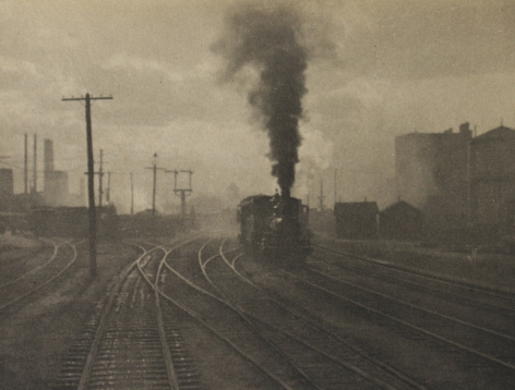 Alfred Stieglitz - The Hand of Man, 1902 - Howard Greenberg Gallery