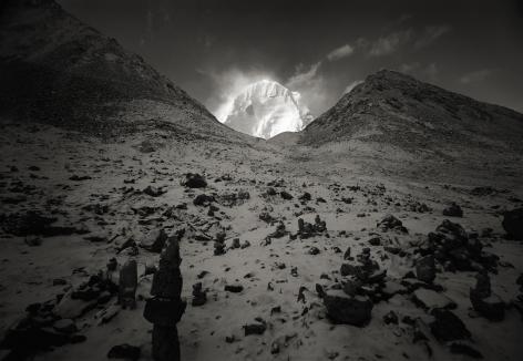 Kenro Izu - Kailash #75, Tibet, 2000 - Howard Greenberg Gallery
