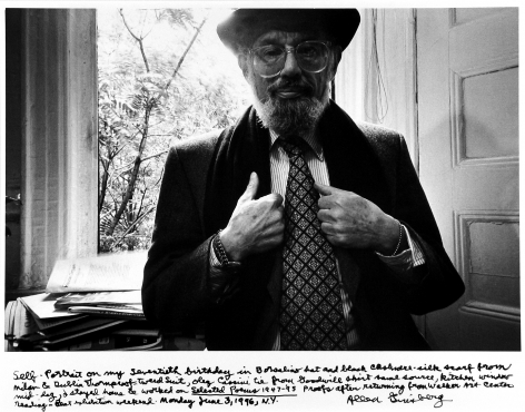 Allen Ginsberg: Vintage Photo Booth Strips 2011 Howard Greenberg Gallery