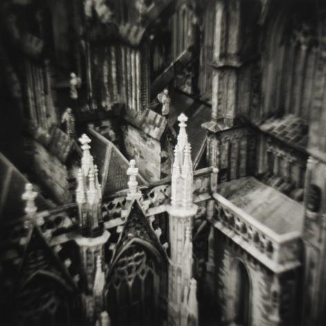Eric Lindbloom - Cathedral, Madurodam, Netherlands, 1979 - Howard Greenberg Gallery