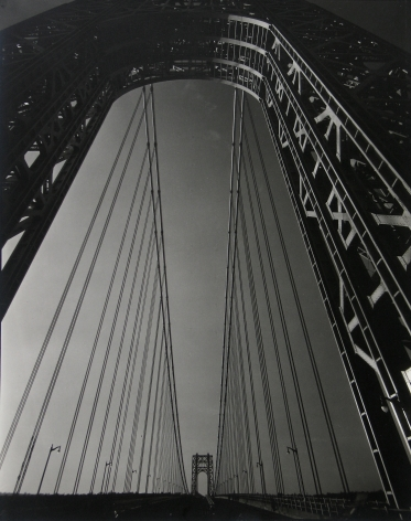 Edward Steichen - George Washington Bridge, 1931 - Howard Greenberg Gallery