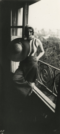 Jacques-Henri Lartigue - Renee Perle, 1930 - Howard Greenberg Gallery