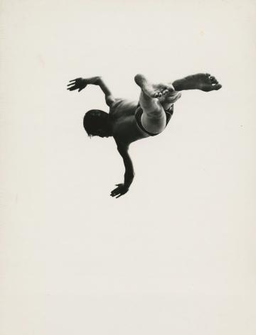 Aaron Siskind - Pleasures and Terrors of Levitation 37, 1953 - Howard Greenberg Gallery