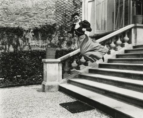 Jacques-Henri Lartigue - Cousin Bichonnade, 40 rue Cortambert, Paris, c.1905 - Howard Greenberg Gallery