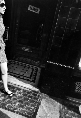 Henry Wolf - 1/2 Woman, Closed Store, 1960s - Howard Greenberg Gallery
