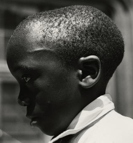 Aaron Siskind - Boy's Head, Harlem, 1932 - Howard Greenberg Gallery