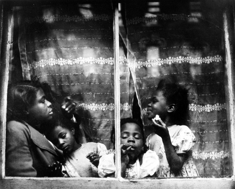 Morris Engel - Rebecca-Harlem, 1947 - Howard Greenberg Gallery
