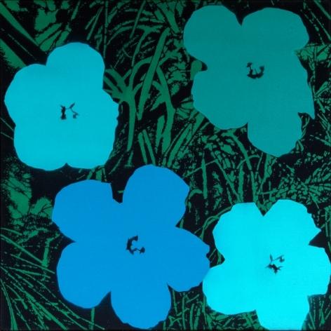 Poppies VI - Homage to Warhol