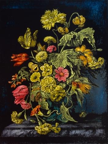 Still Life with Flowers VI - Homage to Rachel Ruysch